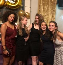 Lichting september 2017: Liza, Joanne, Emma, Nina & Marayah
