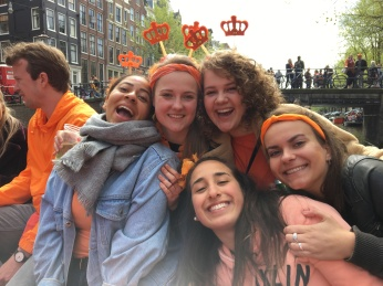 Lichting september 2017: Liza, Joanne, Nina, Emma & Marayah