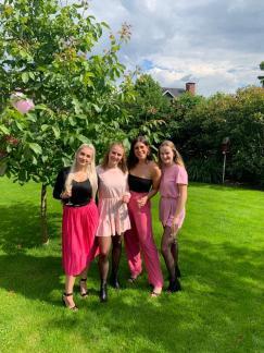 Lichting september 2019: Emily, Femke, Eva, Judith